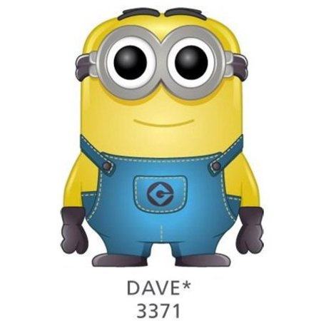 Funko Despicable Me 2 Movie Dave Minion Pop! Vinyl Bobble Head Figure](Minion Dave)