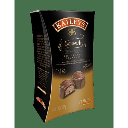 Neon Chocolates - Baileys Non-alcoholic Chocolate Truffles, Caramel, 4.2 Ounce (pack Of 3)