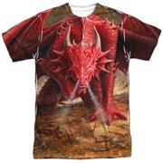 Anne Stokes - Dragons Lair - Short Sleeve Shirt - Small