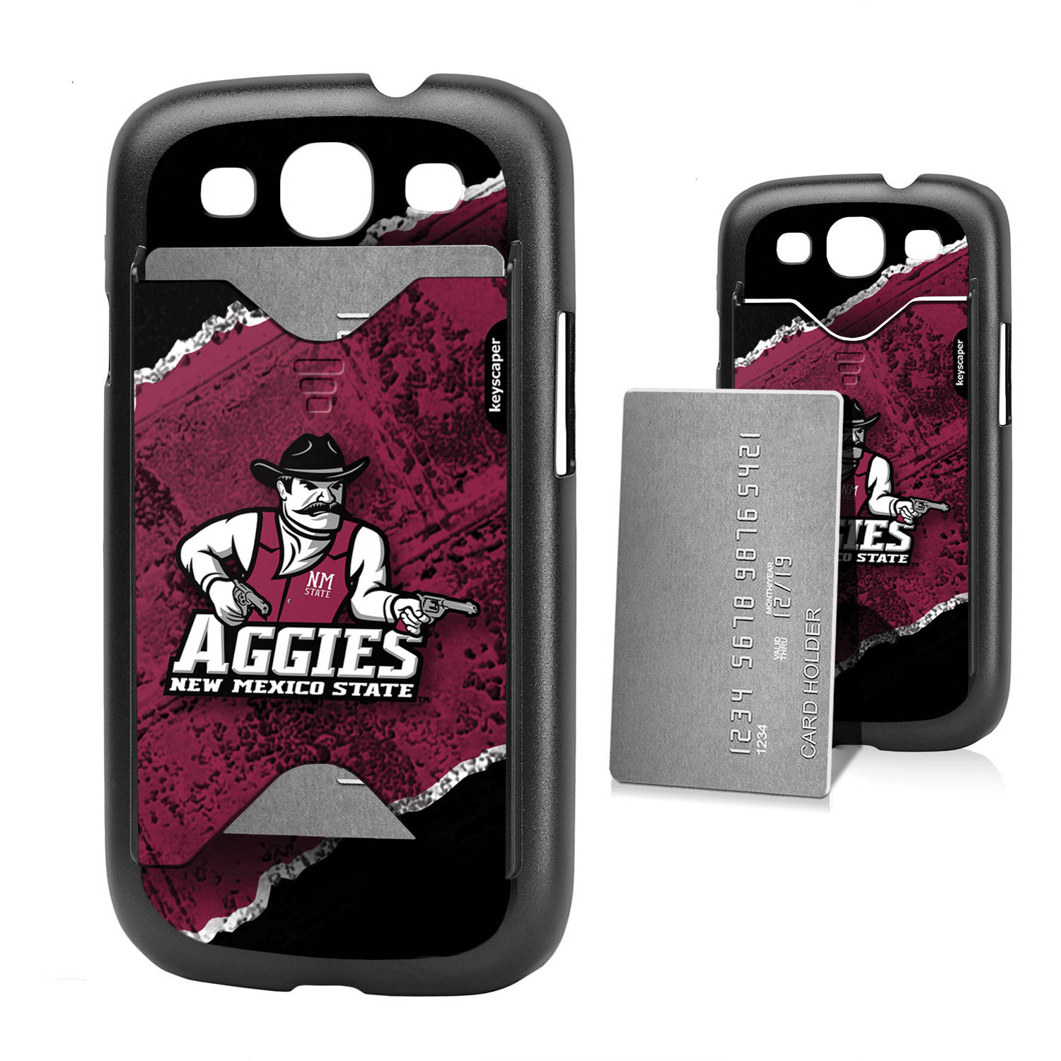 New Mexico State Aggies Galaxy S3 Credit Card Case