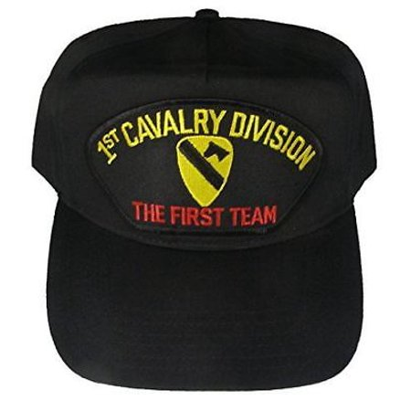 831d2f4d065 US ARMY FIRST TEAM 1ST CAVALRY DIVISION HAT CAP HORSE FORT HOOD -  Walmart.com