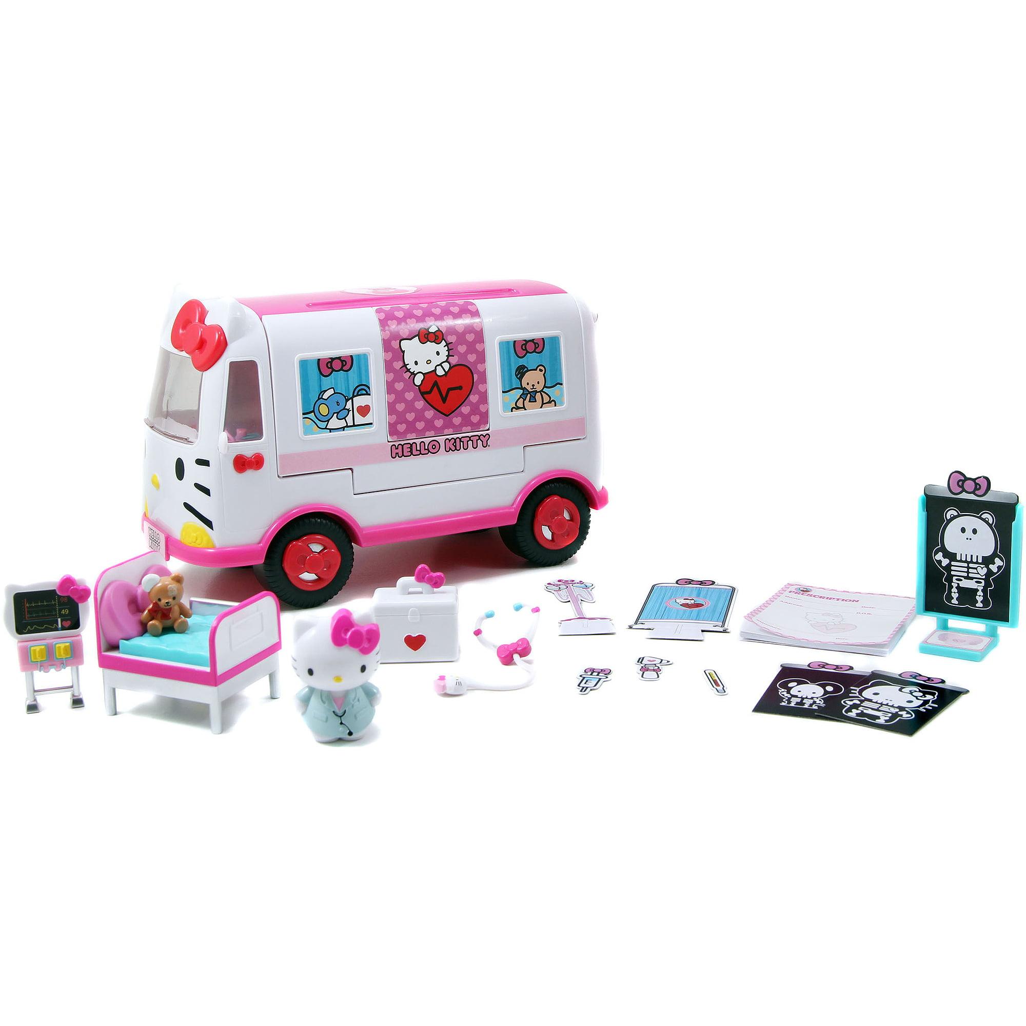 Hello Kitty Emergency Ambulance Playset by