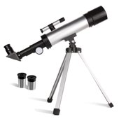 Telescope for Kids Telescopes for Astronomy Beginners Capable of 90x Magnification Includes Two Eyepieces, Tripod,  Finder Scope Ideal for Birthday Christmas Gift