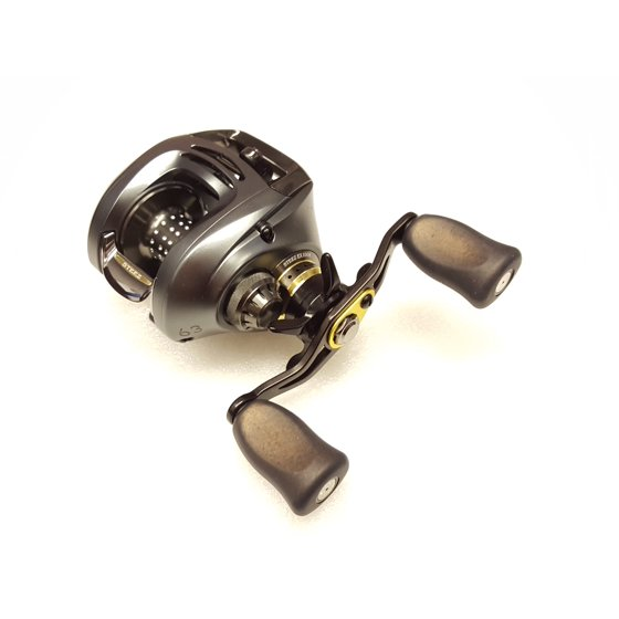 a16625366af Daiwa Steez EX 100H 6.3:1 Right Hand Baitcast Fishing Reel - STEEZEX100H -  Walmart.com