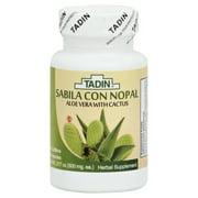 Tadin Capsules Savila & Nopal 60-Ct