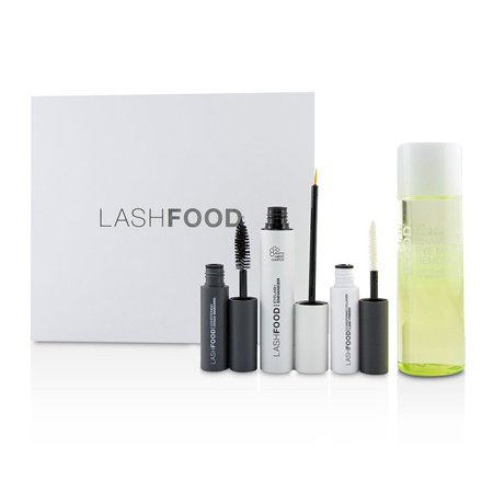 LashFood LashFood Lash Transformation System: (1x Eyelash Enhancer, 1x Lash Primer, 1x Mascara, 1x Eye Makeup Remover) 4pcs Make Up - Male To Female Makeup Transformation