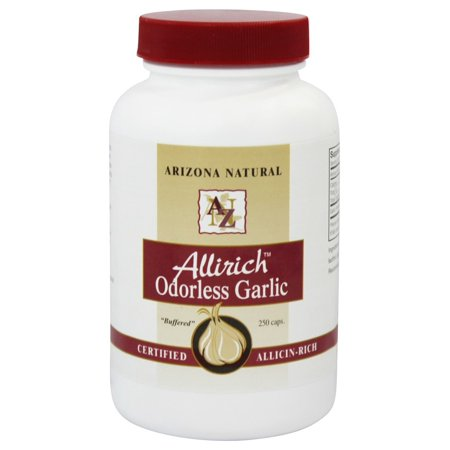 Arizona Natural - Allirich Ail inodore 500 mg. - 250 Capsules
