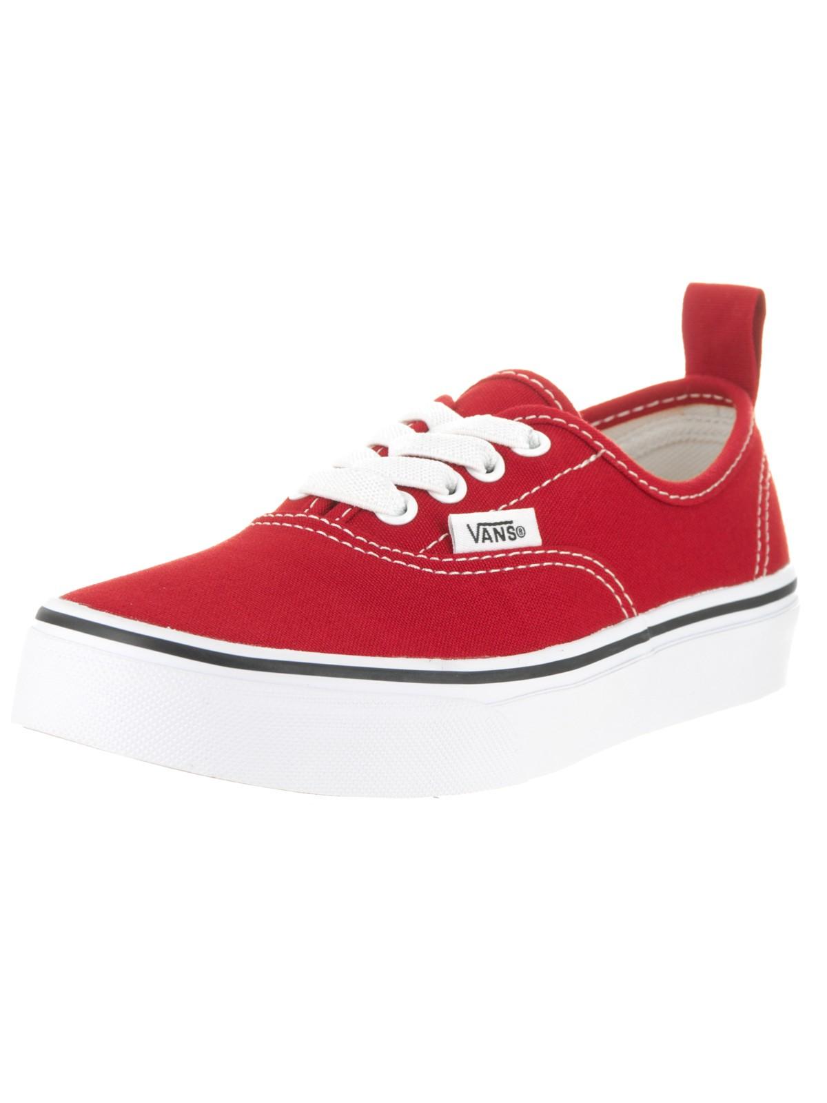 Vans Kids Authentic Elastic (Elastic Lace) Skate Shoe