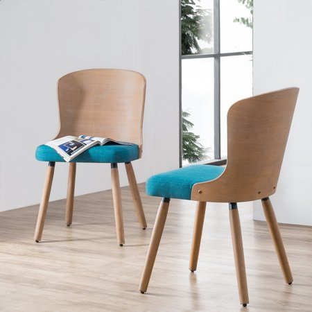 Corvus  Calvados Mid-Century Modern Bamboo Dining Chairs (Set of (Antique Bamboo Chair)