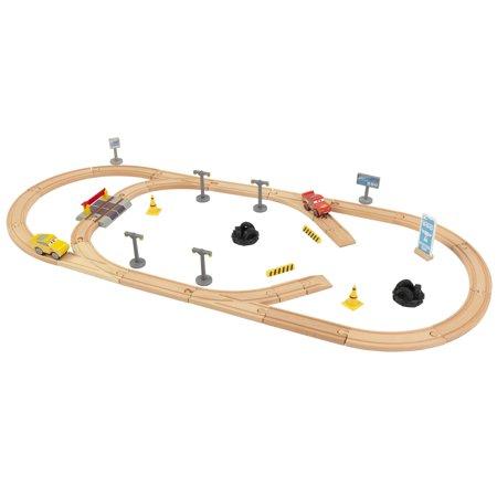 KidKraft Disney® Pixar Cars 3 50 Piece Radiator Springs Track Set ...