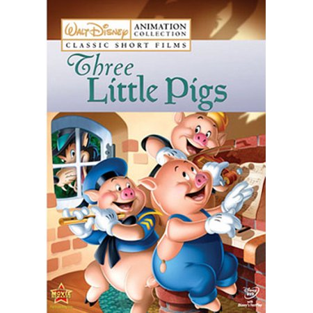 Disney Classic Short Films: Three Little Pigs (DVD) (Film D'halloween Disney En Streaming)
