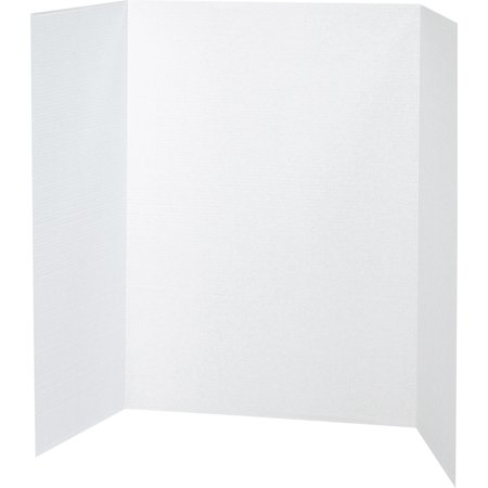 Pacon Tri-Fold Corrugated Presentation Display Boards, 48