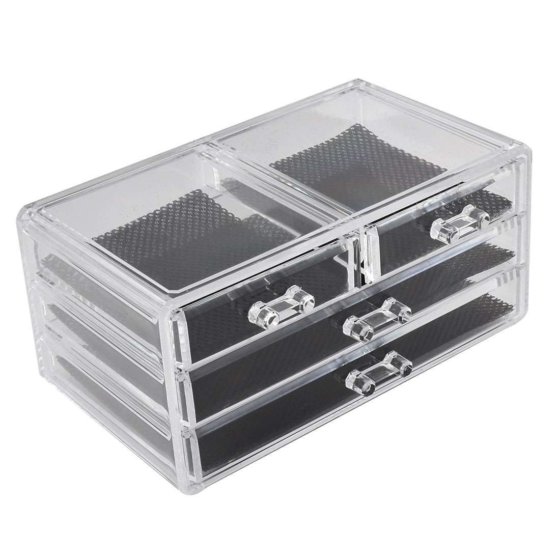 Unique Bargains Acrylic Makeup Cosmetic Organizer Jewelry...