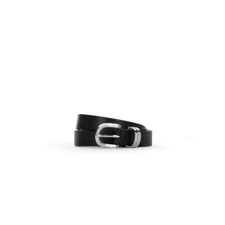 LPLP Linea Pelle Women's 100% Genuine Leather (Linea Pelle Black Belt)