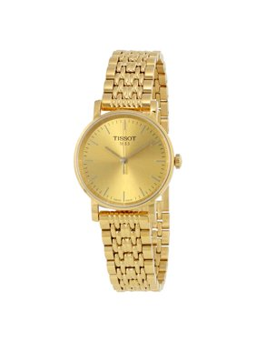 Tissot T-Classic Champagne Dial Ladies Watch T1092103302100