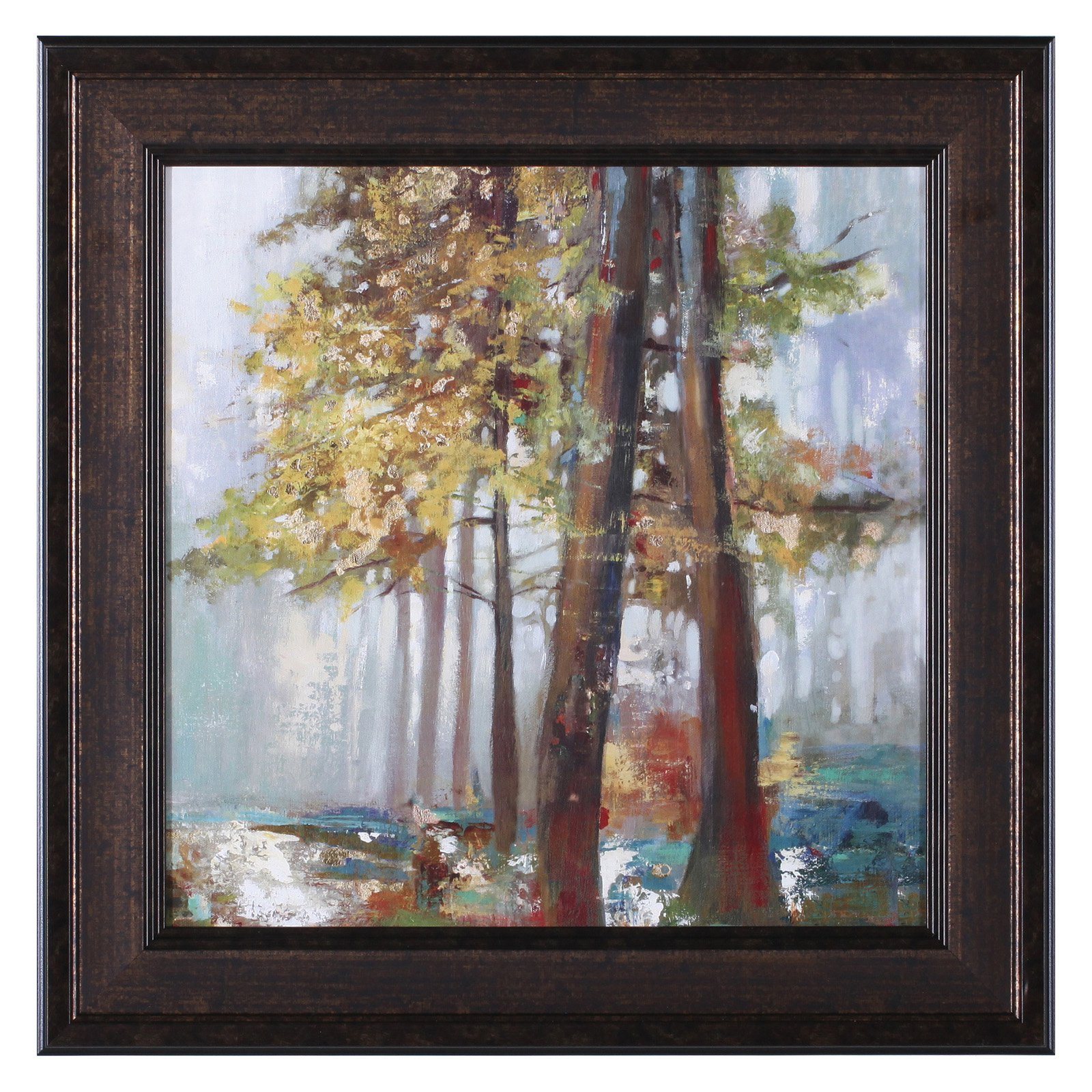 Art Effects Upon The Leaves I Petite Framed Wall Artwork by Art Effects