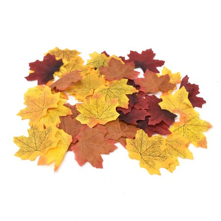 Fall Leaf Crafts (Fall Artificial Harvest Leaves, Assorted Color, 3-Inch,)