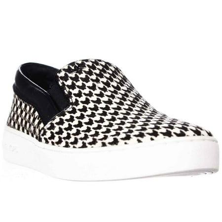 c2cbf5df39 Womens MICHAEL Michael Kors Keaton Slip On Sneakers - Black/White