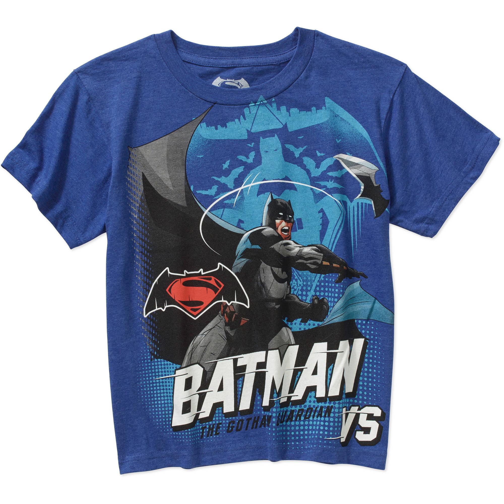 DC Comics Batman Dawn of Justice Short Sleeve Graphic Tee