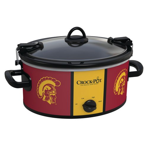Crock-Pot NCAA 6-Quart Slow Cooker, USC Trojans