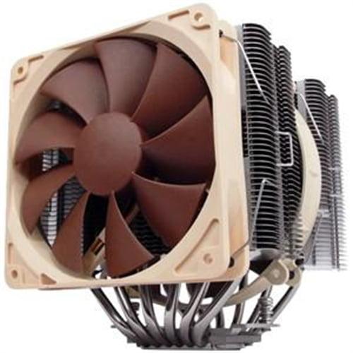 Noctua NH-D14 Ultra Quiet Dual-Fan CPU Heatsink Cooler Cooling System with fans