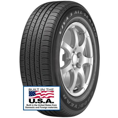 Goodyear Viva 3 All-Season Tire 225/60R16 98T SL ()