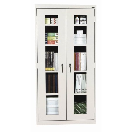 See-Thru Clearview Storage Cabinet w Adjustable Shelves (36 in. x 24 in. x 78 in.)