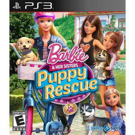 Barbie and Her Sisters: Puppy Rescue PS3 (Rescue Playstation)