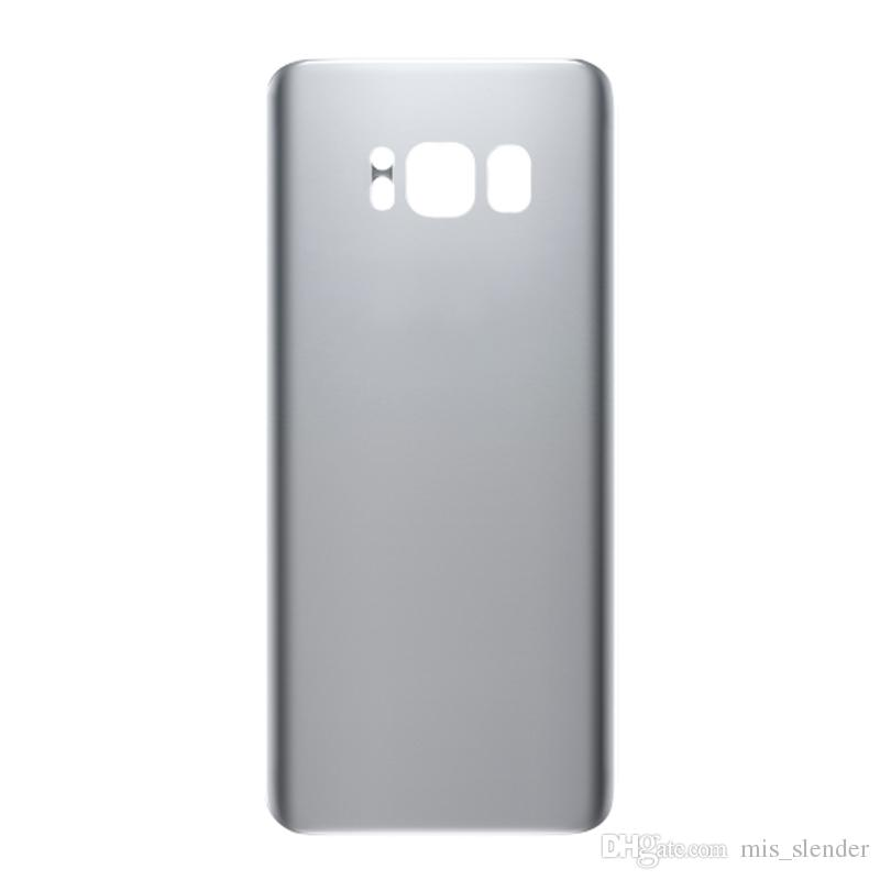 Samsung Galaxy S8 G950 Back Battery Glass Door Cover Replacement Artic Silver