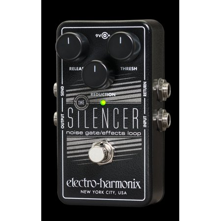 Electro Harmonix EHX Silencer Noise Gate / Effects Loop Guitar Pedal ()
