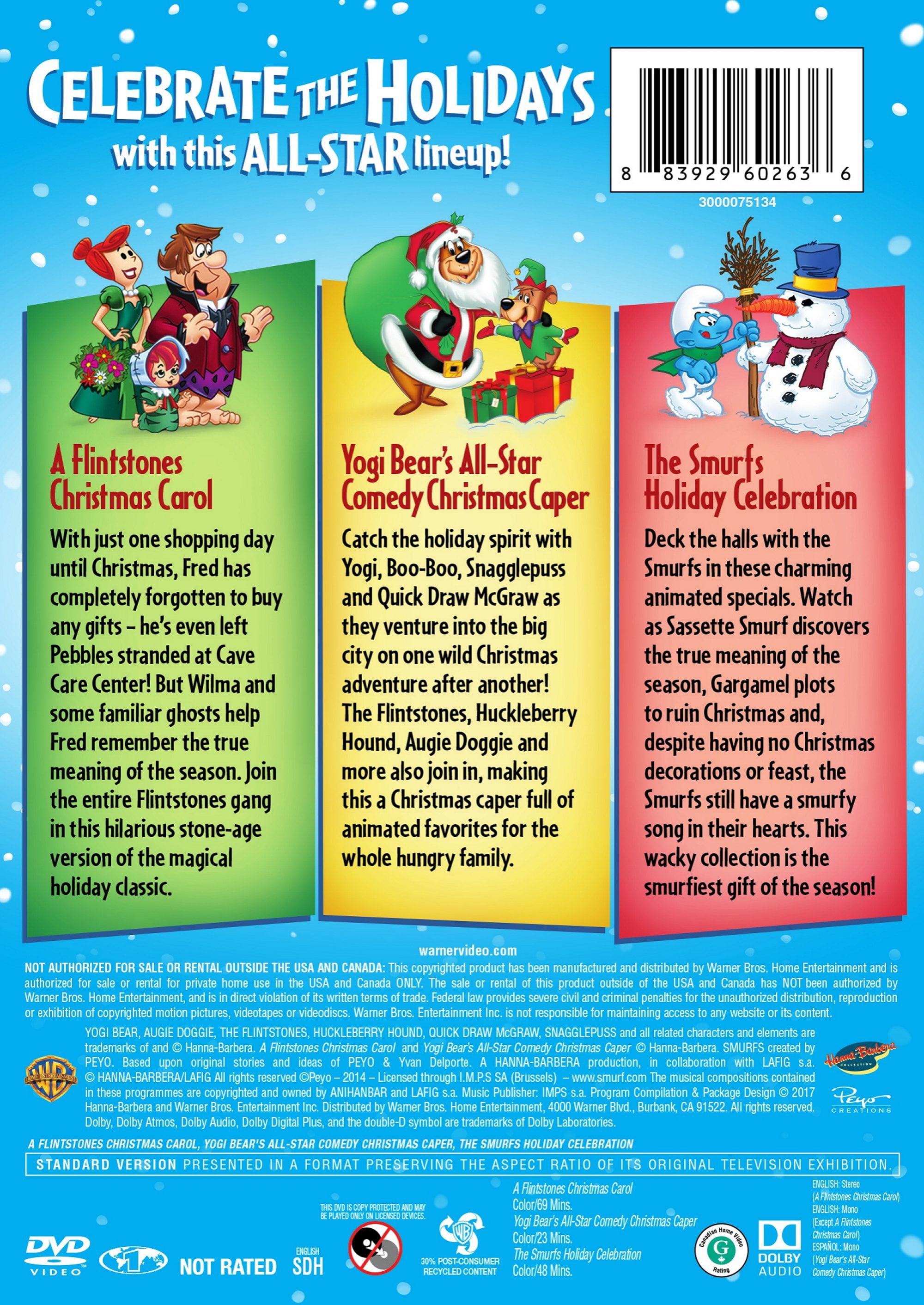 Hanna Barbera Christmas Dvd.Hanna Barbera Holiday Triple Feature