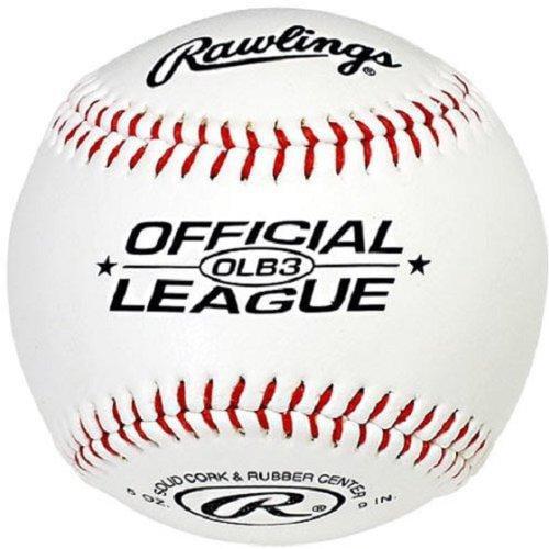Rawlings OLB3 Official League Recreational Play Baseball