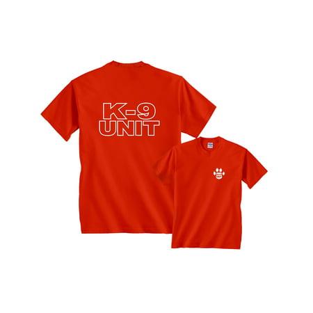 - K-9 Unit Police T-Shirt