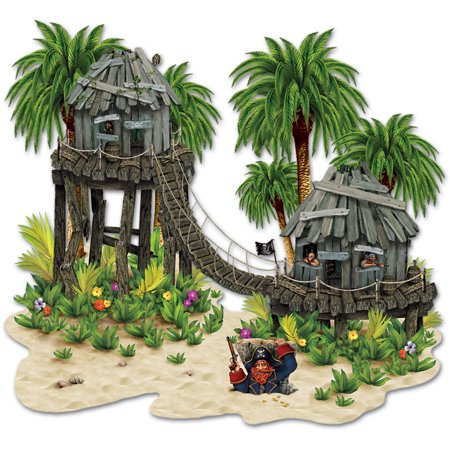 Pirate Hideaway Island Bunker Wall Props Decoration