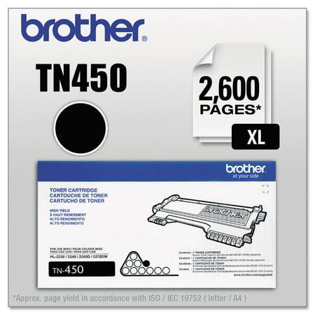 brother tn450 high yield toner black - Inventory Checker