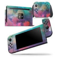 Blotted 534 Absorbed Watercolor Texture - Skin Wrap Decal Compatible with the Nintendo Switch Wii (2006)