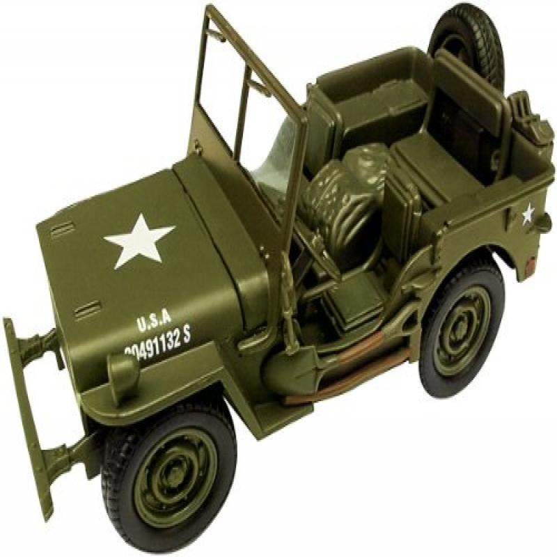Classic Armour Willys Jeep 1:32