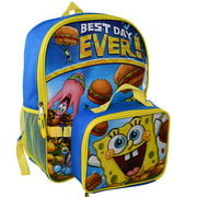 "SpongeBob 16"" Backpack with Lunch Bag"