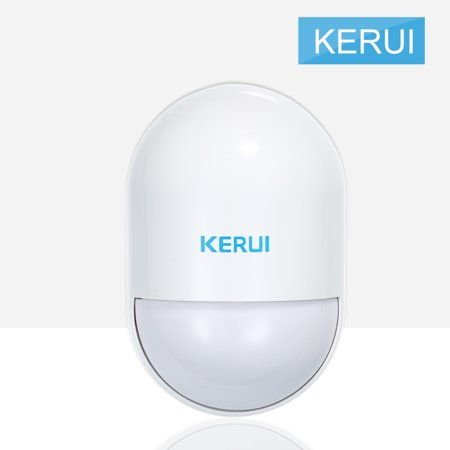 KERUI 433MHz Wireless Infrared Detector Smart Home PIR Motion Sensor Passive Infrared Alarm Detection Anti-tamper For Home Burglar Security Alarm System