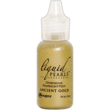 (Liquid Pearls Dimensional Pearlescent Paint .5oz-Ancient Gold)
