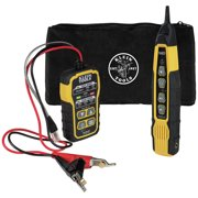 Klein Tools VDV500-820 Cable Tracer Kit with Probe Tone Pro for RJ11 and RJ45 Cables
