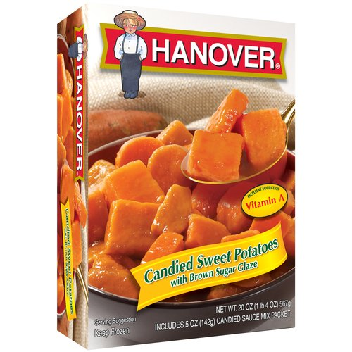 Hanover Candied Sweet Potatoes with Brown Sugar Glaze, 20 oz