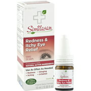Similasan Redness & Itchy Eye Relief Eye Drops 0.33 Ounce Bottle
