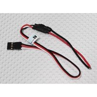 HobbyFlip 5V Remotely Receiver Adjustable Light Controller for LED Compatible with RC Aircraft