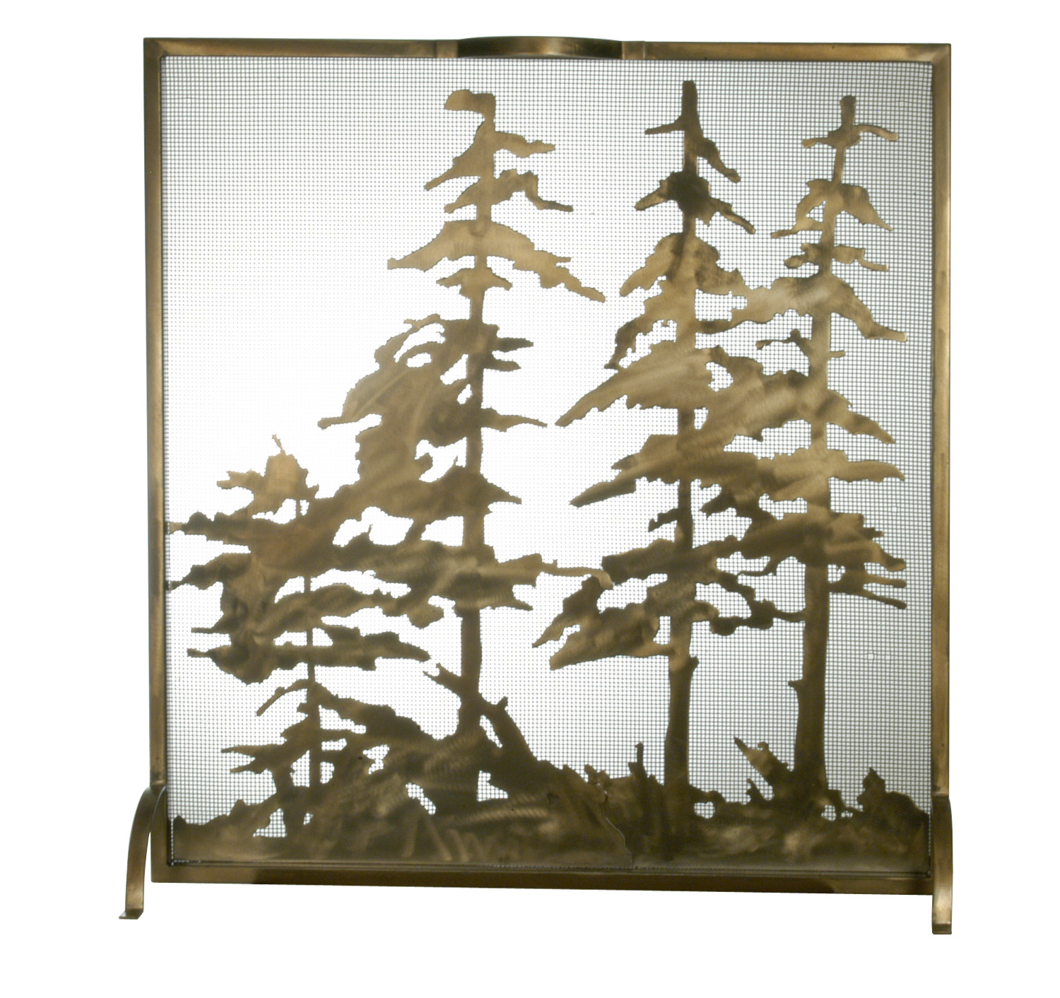 "32""W X 33""H Tall Pines Fireplace Screen 27047 by Meyda Tiffany"
