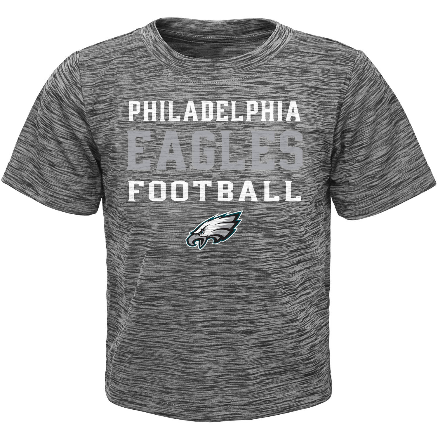 NFL Boys' Philadelphia Eagles Short Sleeve Poly Team Tee