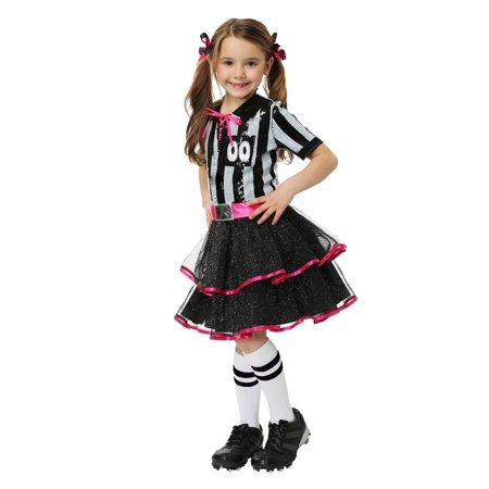 Girls Darling Ref Costume - image 1 de 2