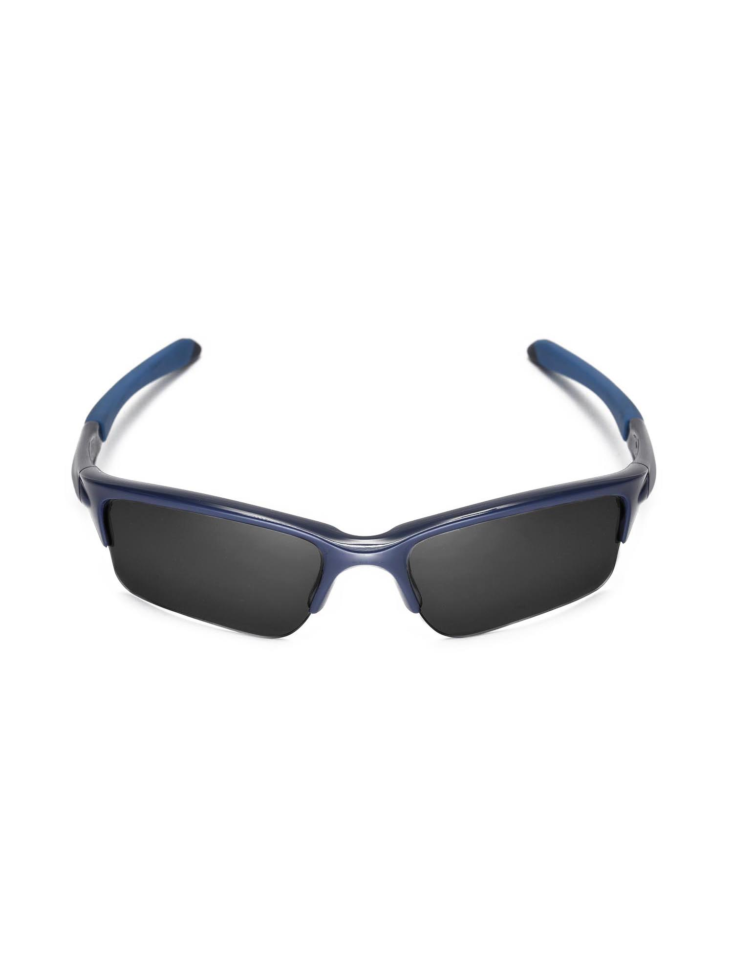 f35bffb7cf8 Walleva - Walleva Ice Blue Polarized Replacement Lenses for Oakley Quarter  Jacket Sunglasses - Walmart.com