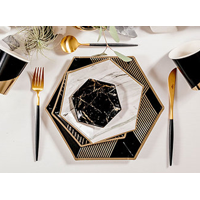 Deals on Black and Gold Essentials Party Kit Serves 16 guests
