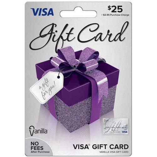 Visa $25 Gift Card - Walmart.com